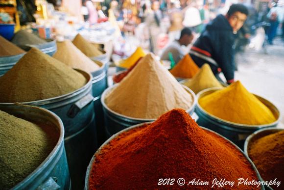 adam jeffery photography | morocco | spice market